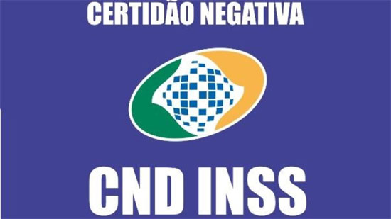 Certidão negativa INSS