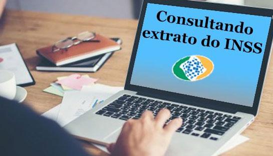 Consultar extrato de contribuição INSS